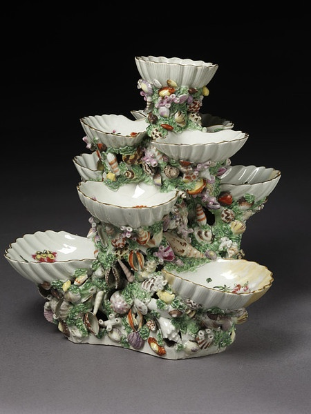 KITSCH Stand, Royal Worcester (manufacturer), about 1770. The Victoria and Albert Museum