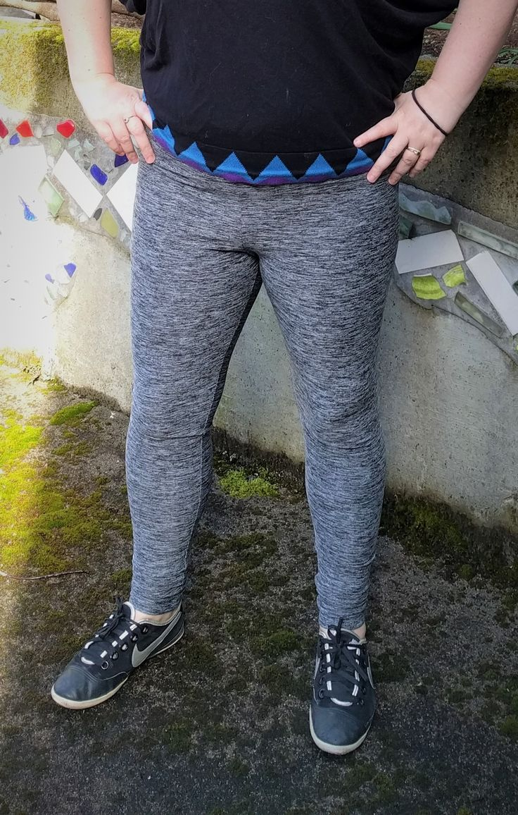 Belle Citadel // New make: #sewmystyle Virginia leggings by Megan Nielsen Patterns