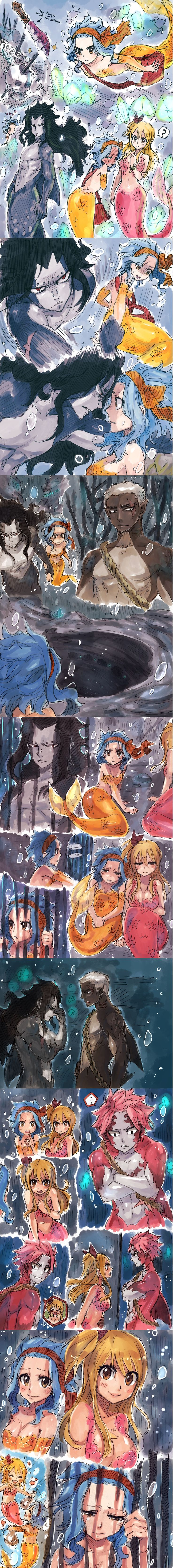 Is this an actual fanfiction as well if so someone tell me the name Gajevy ♥ Dark Waters