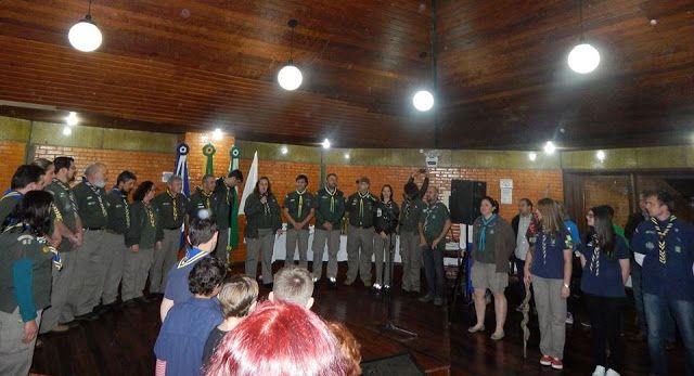 Grupo Escoteiro Iguaçu 43º SC Porto União: 35º Aniversário GE Paul Harris