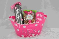 Happy Birthday Mini Gift Basket