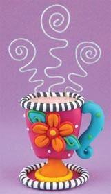 Teacup Recipe Card Holder   FaveCrafts.com