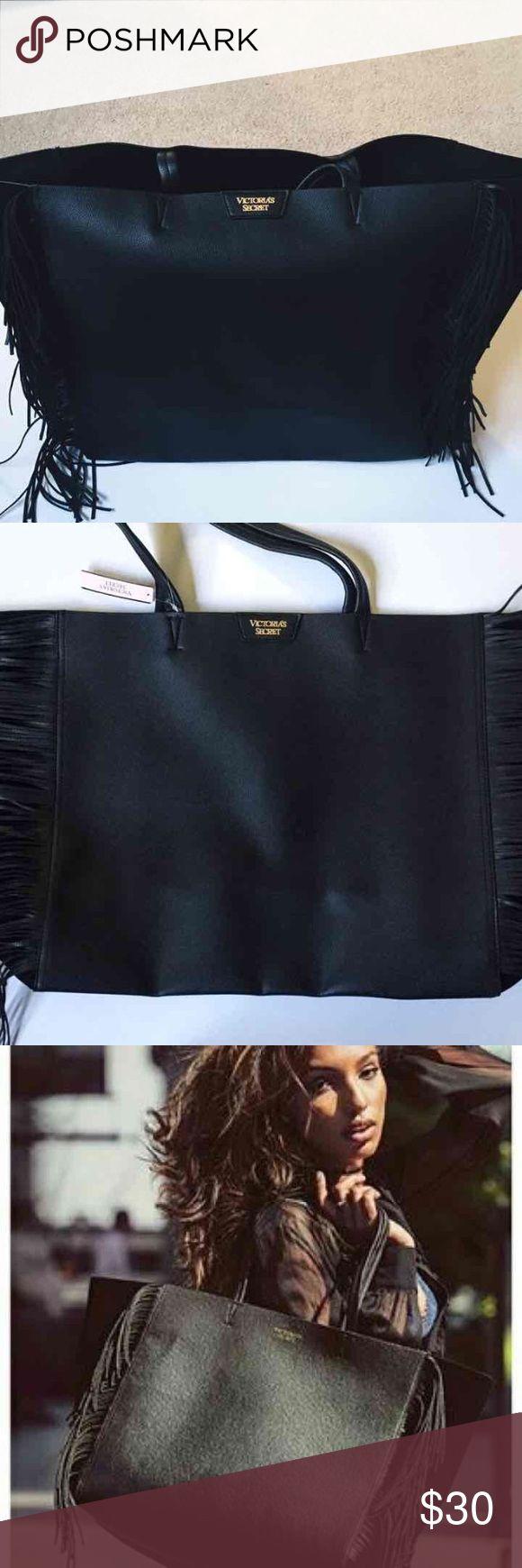 Victoria's Secret Fringe Tote victoria's secret fringe tote bag! PINK Victoria's Secret Bags Totes