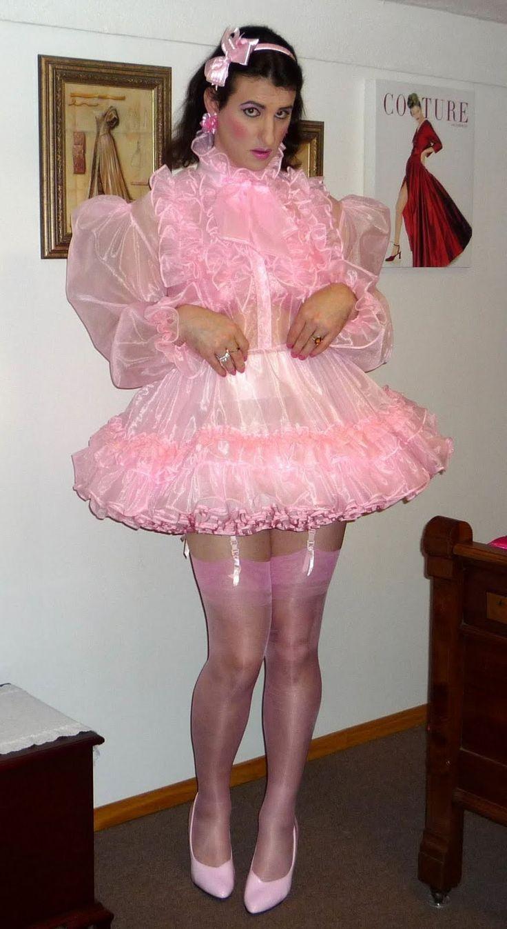 Frilly Sissy Tumblr inside christine bellejolais   crossdressed, hosiery and satin