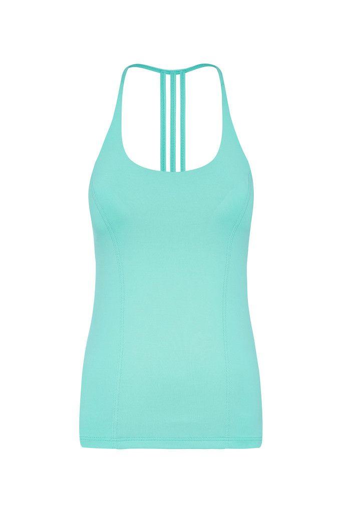 Aqua Freedom Flow Sports Tank – Dharma Bums Yoga and Activewear