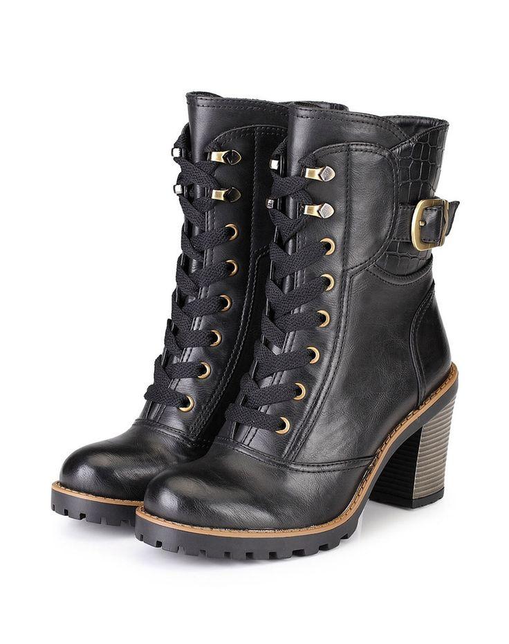 Zurich Lace Boot – Genkek Shoes