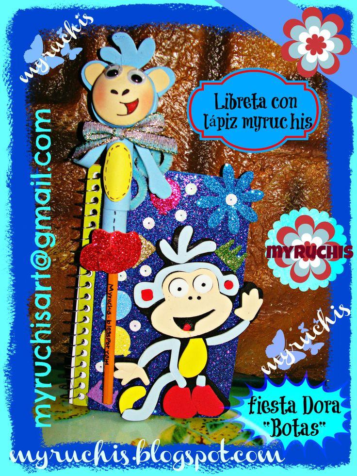 Ideas Fiesta, Fiesta Dora  myruchis.blogspot.com