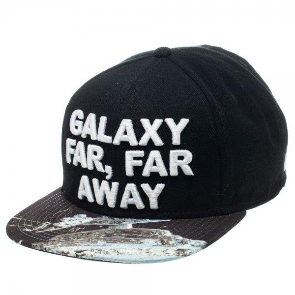 Star Wars Galaxy Far, Far Away Sublimated Bill Black Snapback