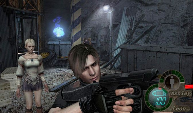 Quot Resident Evil 4 Quot With Fiona From Quot Haunting Ground Quot In