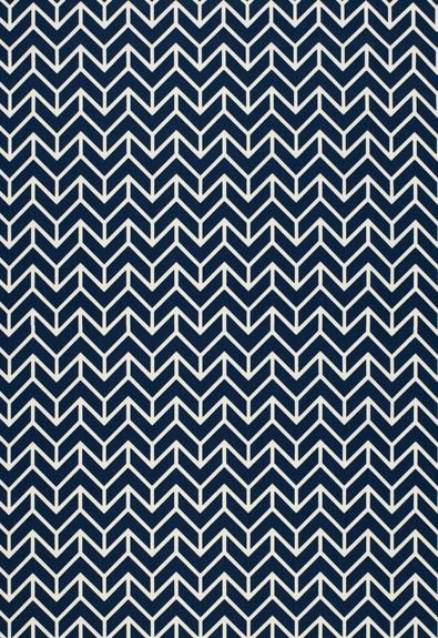 Different but gorgeous! This navy chevron pattern is 100% cotton and priced at $86 per yard