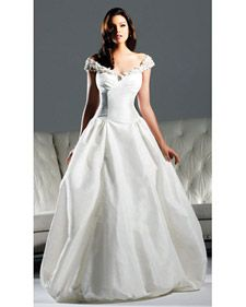 David Tutera by Faviana's fall 2011 wedding dress collection, straight from the runway.