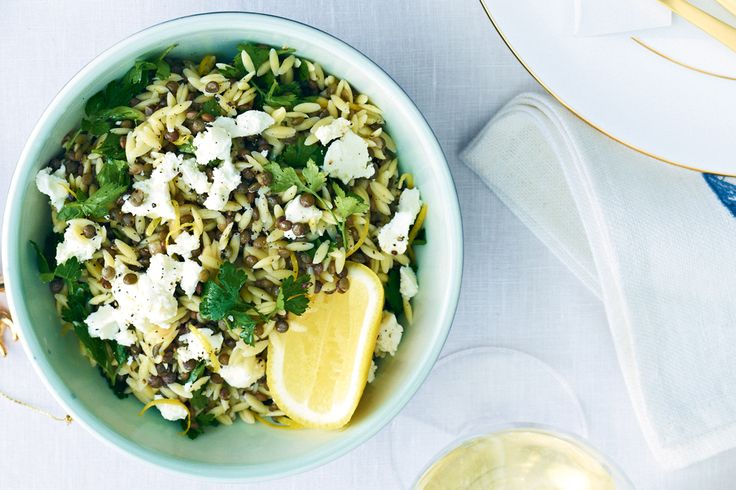 Roll out this lemony pasta side that will take you right through summer.