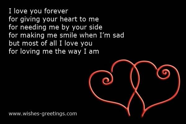 valentine day poem for boyfriends | valentines day quotes for him