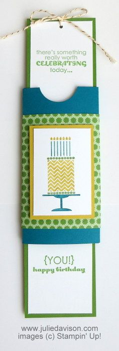 Julie's Stamping Spot -- Stampin' Up! Project Ideas Posted Daily: VIDEO & PDF: Double Slider Card Tutorial