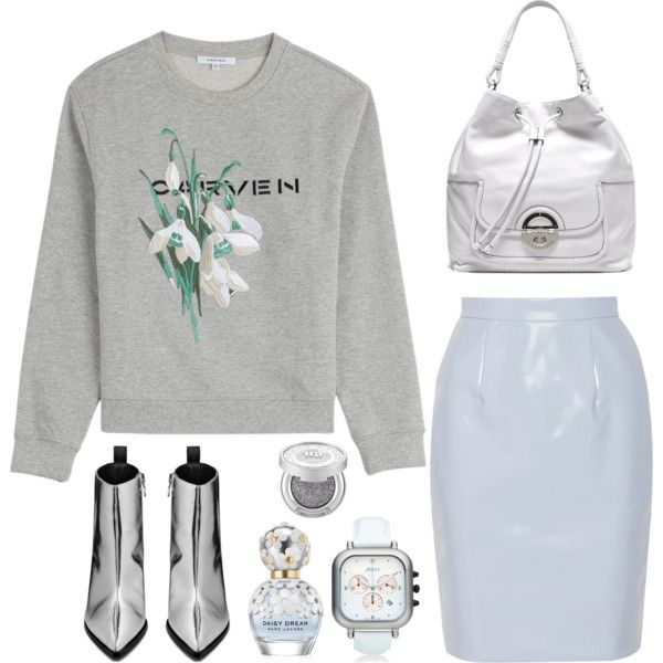 Spring edit #1 by iri-josephine on Polyvore featuring Carven, Miu Miu, Acne Studios, Orolog by Jaime Hayon, Urban Decay, Marc Jacobs, backpack, MyStyle, carven and acnestudios