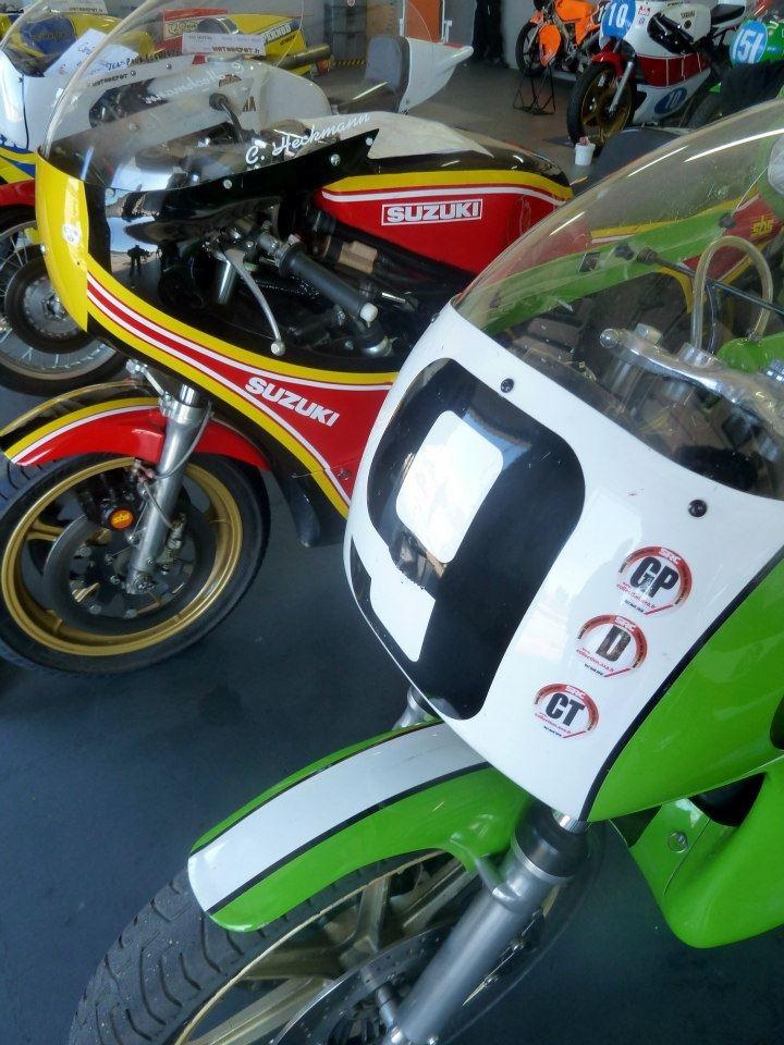 Motos de course anciennesLe Castellet 2013 Old bikes