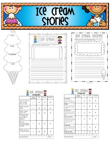 "Ice Cream ""Small Moments"" Stories: Cream Small, Cream Writing, Grade Writing, Website, Web Site, Internet Site, Ice Cream, Small Moments Writing, Cream Stories"
