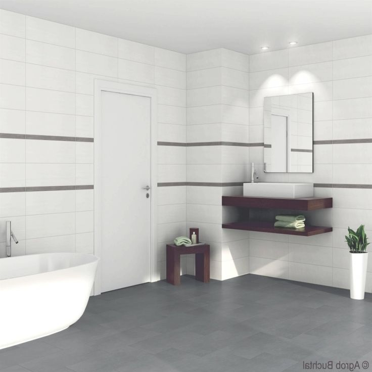 Badezimmer Grau Weiss Schwarz Mit Bildern Badezimmer Fliesen