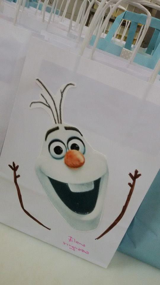 merenda con Frozen festa di simocakedesigner.it