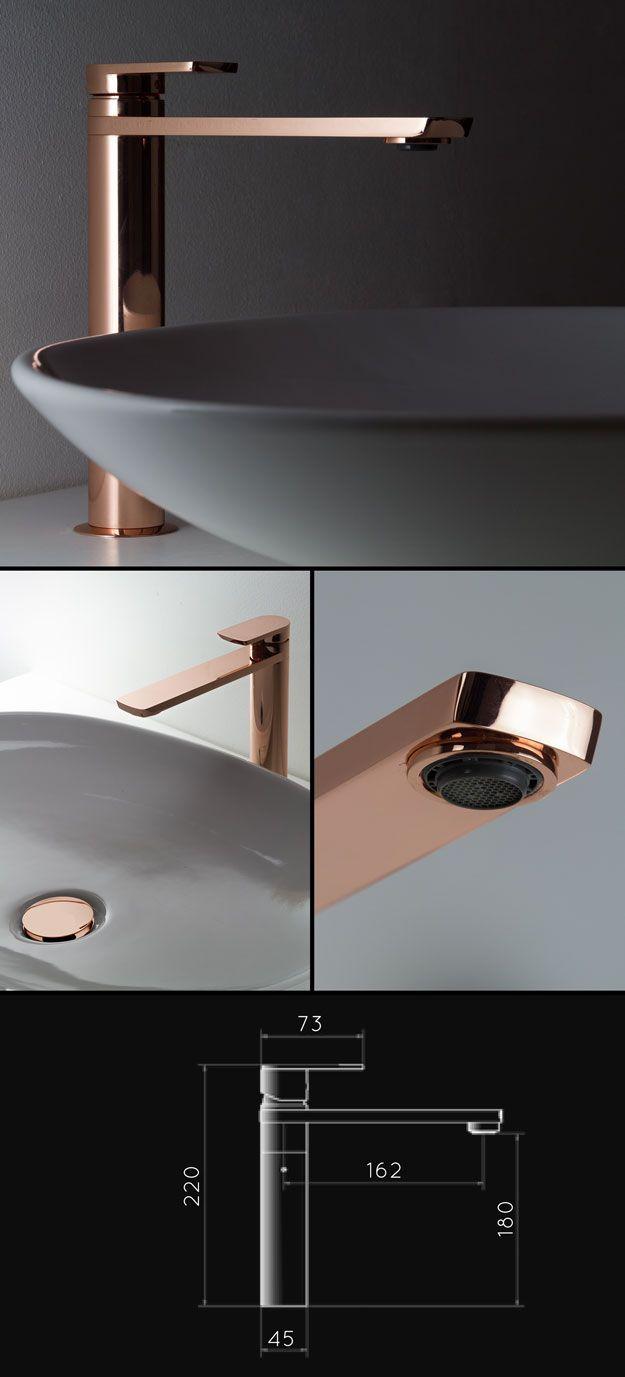 Copper Tall Basin Tap (35CC)