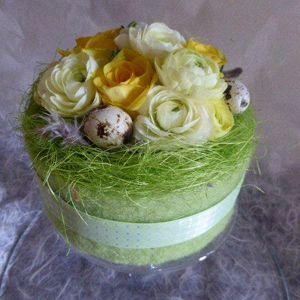 Paastaart met bloemen > KVLV > Zo gemaakt