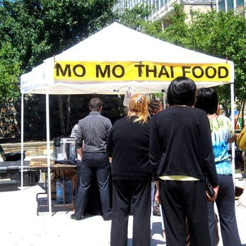 Mo Mo Thai Food at State Center Farmers Market - Baltimore, MD