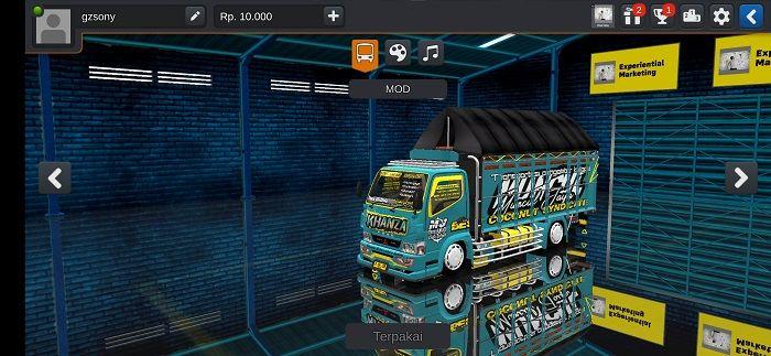 Truck Fuso Terpal Segitiga Mod Bussid Terpal Mobil Kendaraan