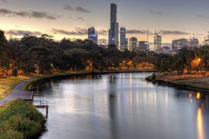 Almost four in every ten trees found in Melbourne's streets, parks and natural landscapes are vulnerable to climate change, a report has found.
