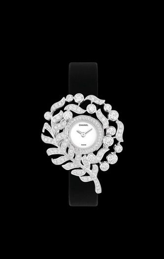 WATCH IN 18K WHITE GOLD AND DIAMONDS - CHANEL #ChanelWatch #Chanel  ~Melissa McInnis~