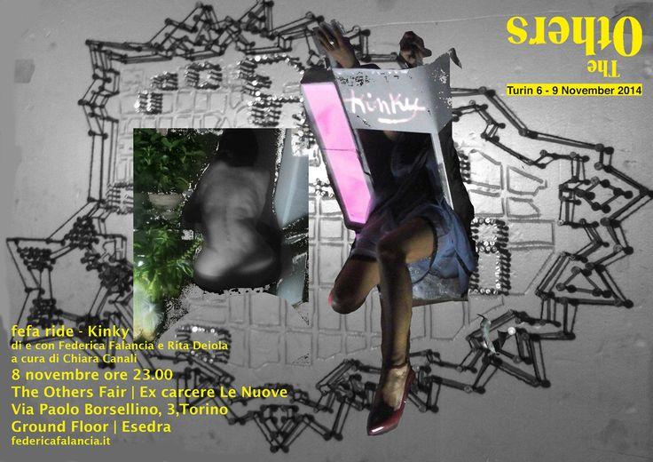 SAVE THE DAVE - fefa ride - Kinky - di e con Federica Falancia e Rita Deiola, a cura di Chiara Canali _ The Others Art Fair, 8 novembre 2014 ore 23.00