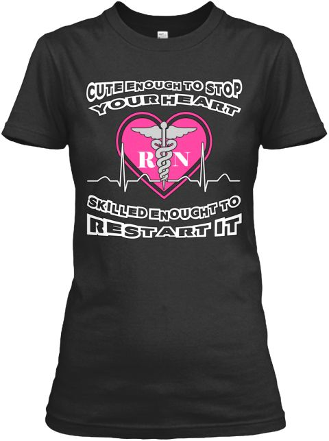 Nurse Rn Skilled Best Seller Black Women's T-Shirt Front #nurse #cute #skilled #registerednurse #RN #nurselife #nurseshirt #nursing