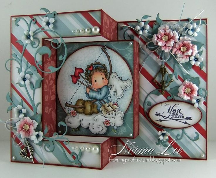 Hello.   This is a short posting just to share with you the measurements that I used for this card I created and posted previously HERE .   ...