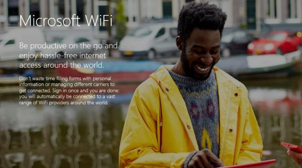 Microsoft sta per lanciare una rete Wi-Fi globale....ti registri una volta e sarà valido ovunque!