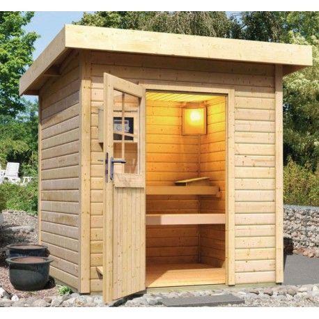 54 best Sauna images on Pinterest Outdoor sauna, Container houses - construction toilette seche exterieur