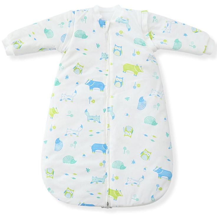 Baby Sleepsacks Spring Sleeping Bag Witch Removable Long Sleeve.