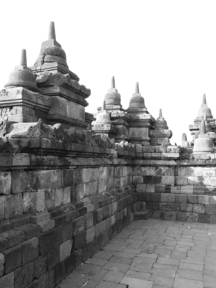 UNESCO listed Borobudur as a World Heritage Site in 1991. #Indonesia