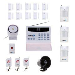 Fortress Security Store (TM) S02-B Wireless Home Security Alarm System Kit with Auto Dial + Outdoor Siren