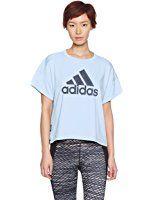 (アディダス)adidas トレーニングウェア TEAM ビッグロゴ半袖Tシャツ DJH31 [レディース]