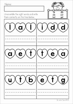 66 best Sight Words images on Pinterest  Activities Sight word
