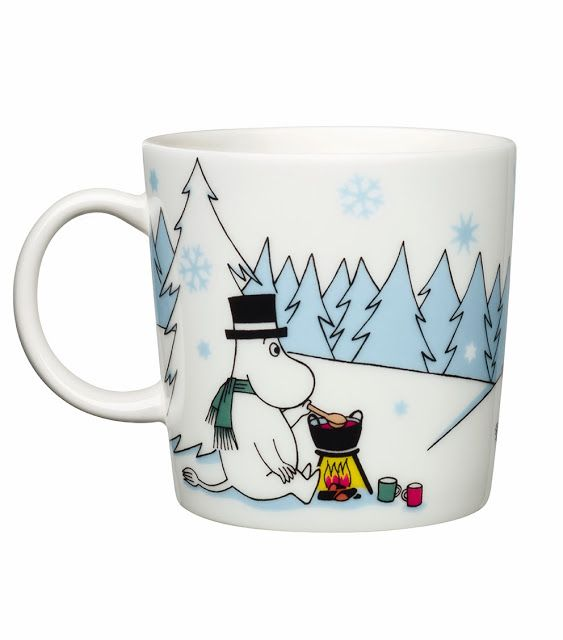 This winter season Moomin mug