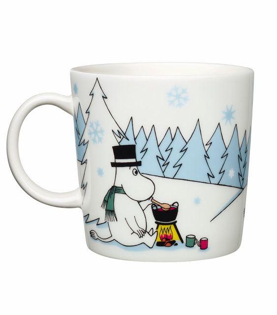 This winter season Moomin mug