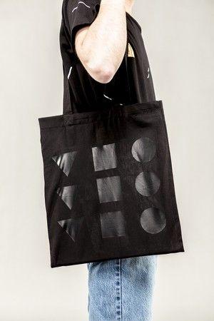 KANNDINGSKY Jute Bag Black on Black  14.90 EUR