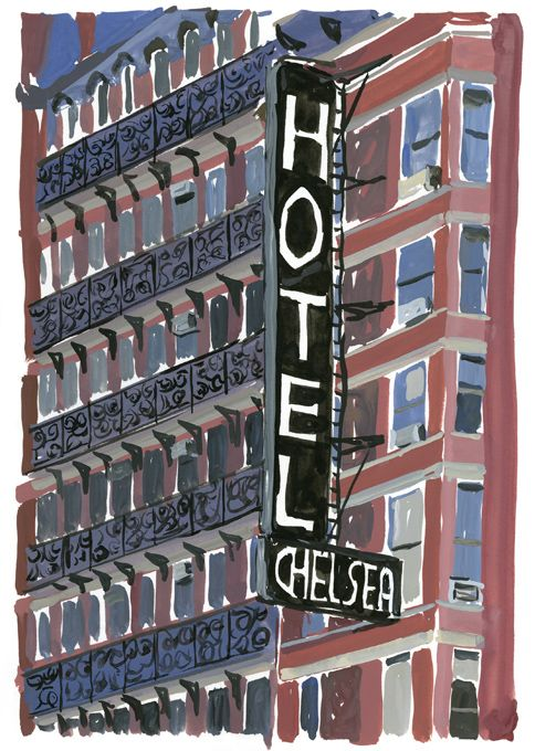 Chelsea Hotel...if only I could flashback to the 1970s