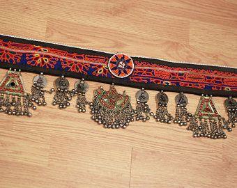 Cinturón de danza Tribal Kuchi vintage