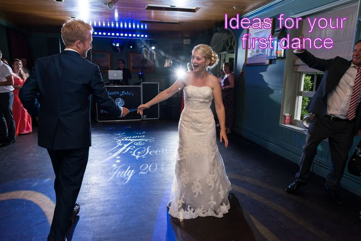 Stylish ideas and videos for your first dance on my website. - DJ Martin Lake