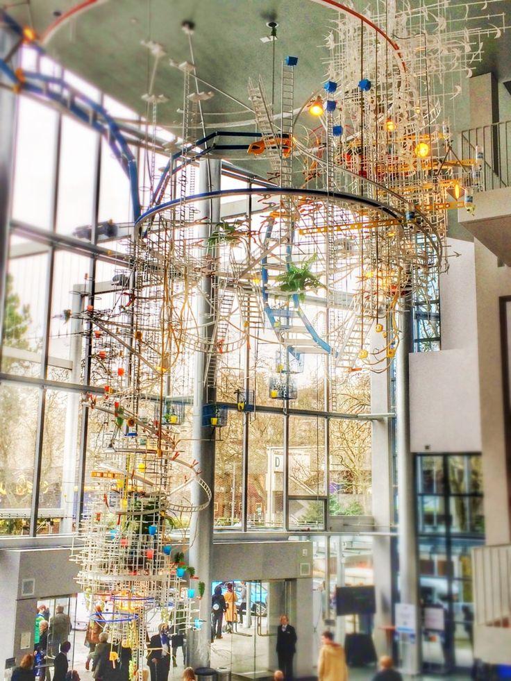 Seattle's ballet and opera are at McCAW HALL. The atrium is an impressive modernist glass box. Susan Sze's mobile hangs here, at 321 Mercer St in Queen Anne