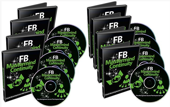 FB Mastermind Continuity -   What if you had no software, no WordPress plugins, no membership script, no landing page, no sales letter, and no sales video? Discover How to Get Rid of Expensive Scripts and Create a Profitable Business with Recurring Income by Using Only Facebook!