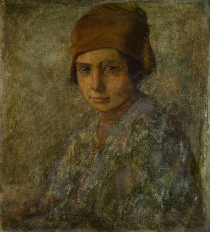Tadeusz Ajdukiewicz - Dziewczynka w czapeczce