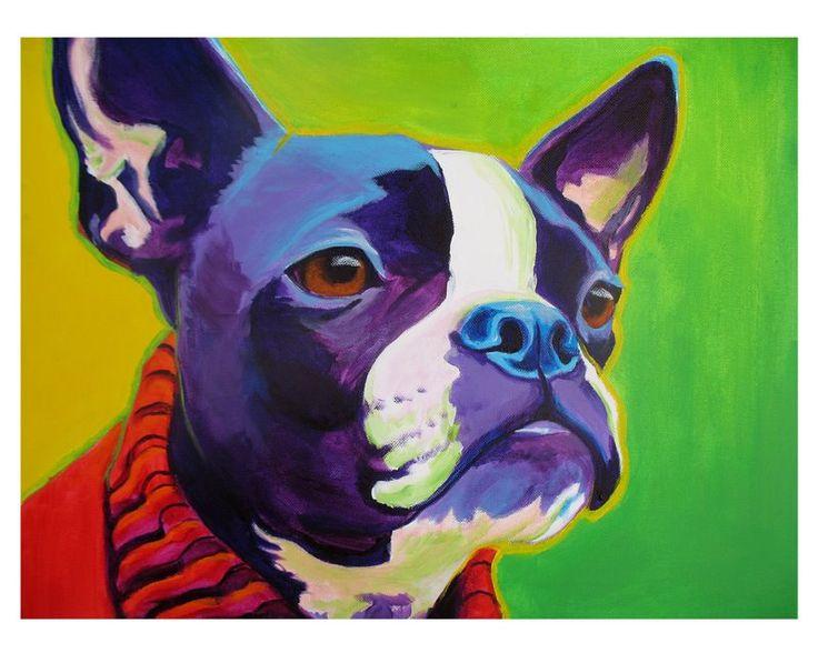 Dapper Boston Terrier