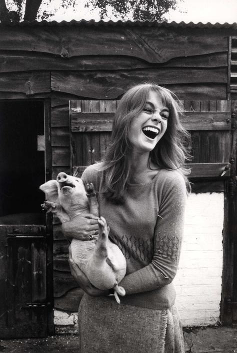 David Hurn: Jean Shrimpton, 1966.